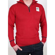 New g-Star 3301 Rise 1/2 ZIP Knit jersey de punto Sweat Camiseta hombre talla m nuevo