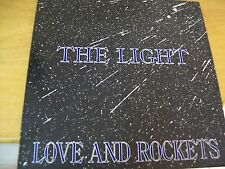 "LOVE AND ROCKETS THE LIGHT  12"" EX+"