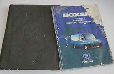 Bordmappe mit Betriebsanleitung Peugeot Boxer Stand 1994