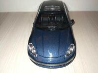 Porsche Panamera S Bleu / 1:24 Voiture Sport Miniature / Welly