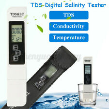 Salt Water Pool Fish Pond Test Tds Digital Salinity Temp Tester Meter Fis
