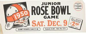 1950 Junior Rose Bowl Cardboard Advertising Display