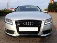 AUDI A5 2007-2011 RS LOOK FRONT LIP / VALANCE / SPOILER ( Not for S-line )