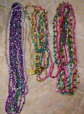 Lot of 23 Assorted Mardi Gras Beads