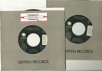 GUNS N' ROSES, YESTERDAYS  b/w (live) ORIGINAL 45 rpm record, 1991, MINT-!
