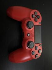 Official Sony Red Dualshock 4 Wireless Gamepad Controller for PlayStation 4