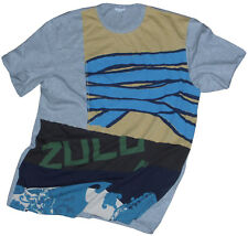 PAUL SMITH SOFT COTTON MULTICOLOURED ZULU T-SHIRT / TOP SZ- L BNWT VERY RARE