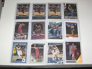 12 CARD 2019 ZION WILLIAMSON NO PELICANS ROOKIE LOT CHRONICLES HOOPS DONRUSS