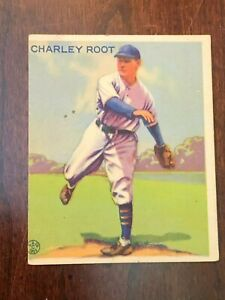 1933 Goudey  #226  Charley Root