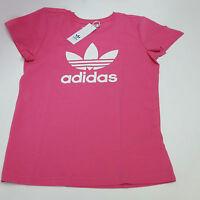 Adidas Originals Trefoil T-Shirt, pink B-Ware Damen Shirt Gr. 40