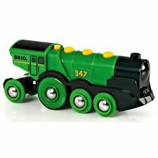 Brio Big Green Action Locomotive 33593 Battery Powered Train