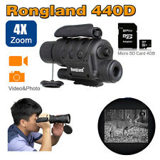 "1.5"" 4x40 Digital Infrared IR Night Vision Scope Monocular Video Photo T1"