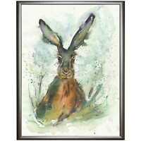 HARE Signed Limited Edition A4 PRINT of Watercolour Painting by Diane Antone