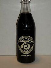 10 OZ COCA COLA COMMEMORATIVE BOTTLE - 1976 75TH ANNIVERSARY CAMPBELLSVILLE