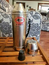 Unbreakabke Uno Vac Stainless Steal Thermos Double Walled