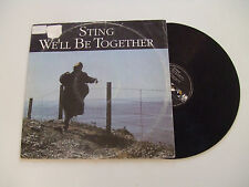 """Sting – We'll Be Together-Disco 12"""" MAXI SINGLE Vinile GERMANIA 1987 Pop Rock"""