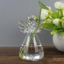 Stand Hanging Flower Vase Planter Hydroponic Plant Container Angel Shape Vase US