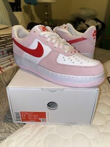 Size 8.5 - Nike Air Force 1 Low '07 QS Valentine's Day Love Letter