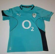 New listing Irish Rugby Football Union Mens Jersey IRFU Puma O2 Official Blue Large