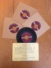 Lot 4 ROSEMONT Auto 45 Records Vinyl Corvette Jaguar Triumph AC Bristol Catalog