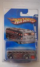 Hot Wheels 2009 #111 HW City Works Series Surfin School Bus REVERSED IN PACKAGE