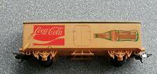 VINTAGE 1980s LIMA TRAINS  CONTINENTAL COCA COLA REFRIGERATOR VAN XJ 13 T