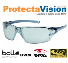 2x Pairs Bolle - Prism - Safety Glasses Silver Flash Lens Sunglasses