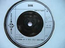 """DANA-IT'S GONNA BE A COLD COLD CHRISTMAS. 1975 7"""" VINYL SINGLE. VG CON"""