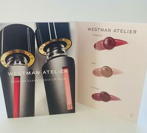 Westman Atelier Squeaky Clean Liquid Lip Balm Sampler Card 3 Shades