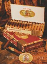 Cabañas Robusto Cigar PRINT AD 2000 Dominican Republic Since 1733 Vintage Rare