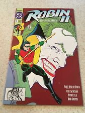 ROBIN II THE JOKER'S WILD #1 (1991) DC KEVIN MAGUIRE COVER HTF NEWSSTAND EDITION