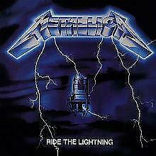 "New Music Metallica ""Ride The Lightning"" LP"