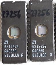 EPROM * AMD 27256 6212424 * UV * RAM * Ceramic * IC * DIP28