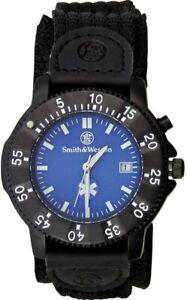 Smith & Wesson Wesson Emt Watch Blue Face Emt Logo Luminous Hands SWW455EMT