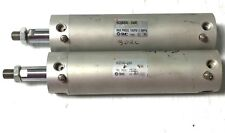 Smc Pneumatic Cylinder Model: Ncgba40-0400 Set Of 2 Pieces