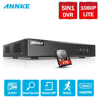 ANNKE 8ch 1080P Lite Channel 5in1 DVR HDMI for CCTV Camera Security System HDD