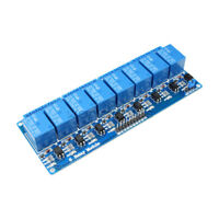 New 12V 8 Channel Relay Module Optocoupler for Arduino UNO 2560 1280 ARM PIC AVR
