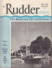 The Rudder July 1954 Converting a Dinghy to Sail 032217nonDBE