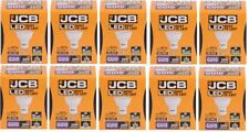 10 X JCB 5w = 50w LED GU10 100deg 4000k Cool White 370lm [Energy Class A+]