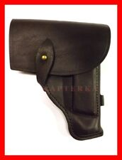 Original Russian army Makarov holster brown leather genuine military pistol bag