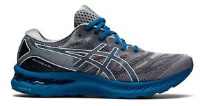 NEW Men's ASICS Gel-Nimbus 23 Sheetrock Sapphire Blue Running Shoes Sizes 8-14
