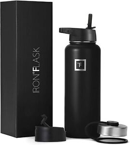 Iron Flask 32oz Vacuum Insulated Stainless Steel Water Bottle Sport Quality