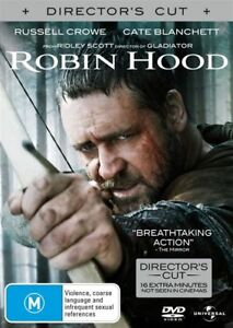Robin Hood DVD Russell Crowe 2010 Cate Blanchett - SAME / NEXT DAY - FAST POST