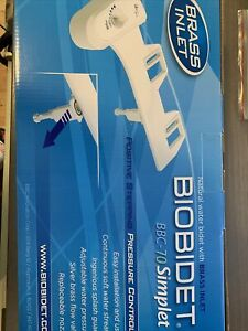 Biobidet BBC-70 Simple & Easy Connect Bidet System For Standard Home Toilets