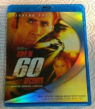 Gone in 60 Seconds (Blu-ray, 2006, Canada) Like New