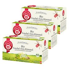 Teekanne Bio Fenchel-Anis-Kümmel 3er Pack