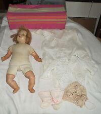"Vintage 18"" Horsman Doll 21 237 Bv3.67 Red Hair, Cries, Eyes Move - in Box"