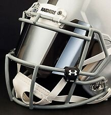 OAKLAND RAIDERS NFL UNDER ARMOUR Football Helmet MIRROR Eye Shield / Visor