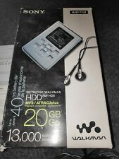 Sony network Walkman HDD NW-HD5 20GB personal MP3 player red