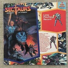 SECTAURS Warriors of Symbion Kid Stuff long playing record (1985)